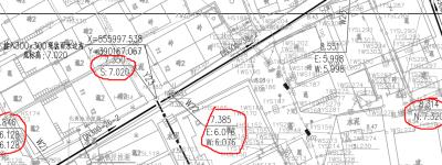 市政排水管网图纸标高问题求解答