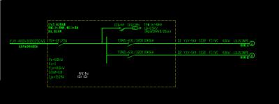 这个排污泵系统图各断路器型号和规格不对吗 ,刚审图中心有意见了,各位大师请指教