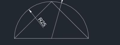 CAD2015直径与半径标注方法讲解