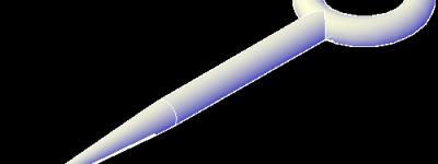 CAD绘制一把逼真的锥子