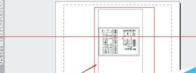 CAD2014怎么查看图纸打印效果?CAD模型空间与图纸空间切换介绍