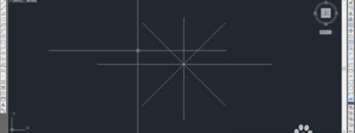 利用CAD画有角度有长度的直线