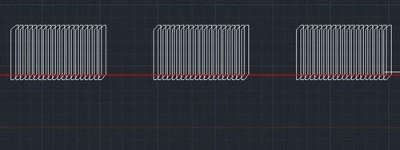 CAD文件怎么快速多次复制图形并均匀排列?