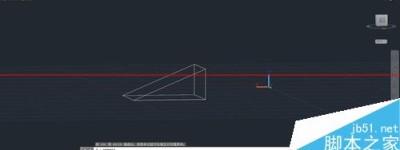 CAD怎么画锲行? CAD画立体图的教程
