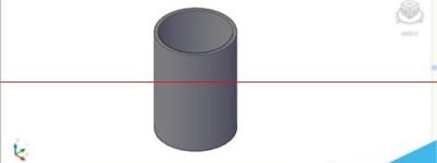 cad怎么绘立体图?cad布尔运算差集绘圆柱体的教程