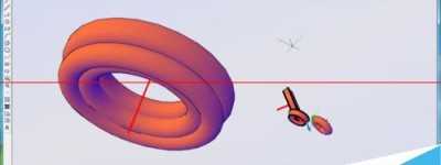 CAD中3D建模旋转rev命令怎么使用?