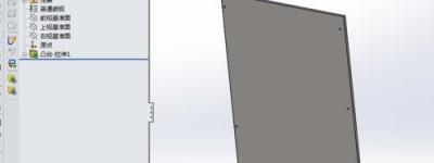 CAD图形怎么导入solidworks并转化为三维模型?