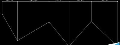 cad中怎么使用连续标注并对齐标注?
