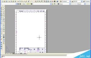 cad如何套用图框? cad打开图框的详细教程