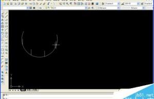 用CAD定数或定距等分圆弧方法图解