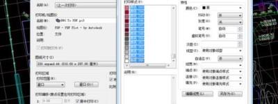 CAD线条颜色太多打印清楚该怎么办?