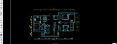 cad中怎么绘制一套较好的室内平面布置方案?