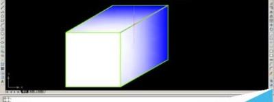 CAD怎么使用渐变色填充H命令?