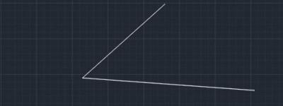 cad构造线怎么使用? CAD利用构造线平分夹角的教程