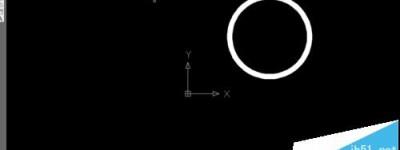 cad怎么绘制实心圆环? cad画有宽度的圆的方法