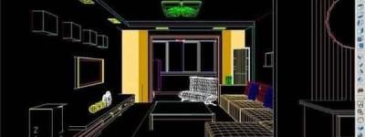 CAD怎么画三维图形? cad绘制立体的室内装修图的教程