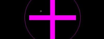 cad怎么绘制医院的十字标志图?