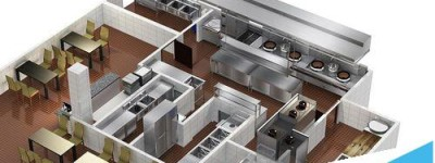 cad怎么使用厨具通插件将厨房设计平面图转成效果图?