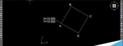 CAD块怎么设置自动标注坐标?