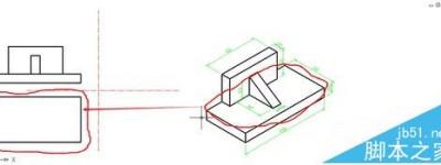 cad三视图的绘制的详细步骤