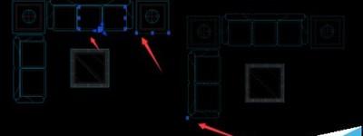 cad图纸中的图形怎么快速装成块?