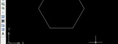 CAD怎么使用命令建立正六边形?