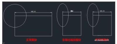 CAD图纸怎么设置不等比例缩放?