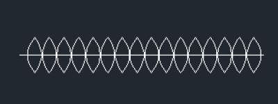 CAD2014怎么使用点绘制多种样式的图形?