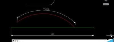 CAD怎么用拉长命令绘制圆弧?