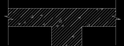 CAD绘制混凝土构件的方法