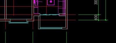 用AutoCAD 2004绘建筑平面图的方法