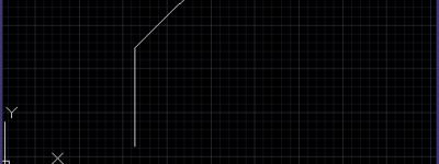 cad怎么绘制倒直角图形?