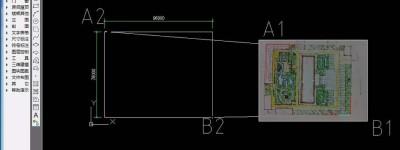 cad描图怎么定比例? CAD按比例精确描图的技巧