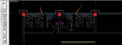 cad平面图怎么添加家具?
