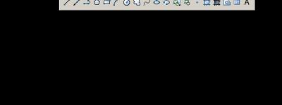 CAD绘画工具怎么放到窗口边上?