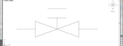 cad阀门怎么画? CAD画阀门的详细过程