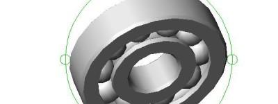 cad怎么绘制一个逼真的轴承? cad机械轴承建模教程