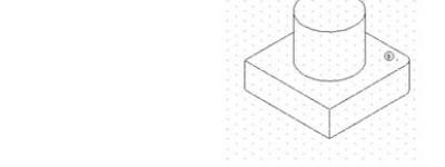 cad怎么在等轴测面中绘制直线与弧线?