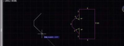 CAD怎么使用正交模式/极轴追踪模式绘制基本形状?