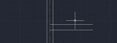 cad多段线画墙体怎么修改墙体合并部位?
