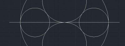 cad怎么画圆? cad绘制大小不同的圆的教程