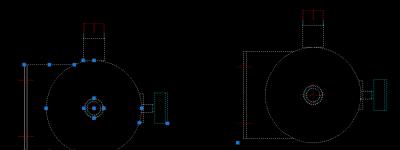 CAD图纸中的图形怎么拆解和合并?