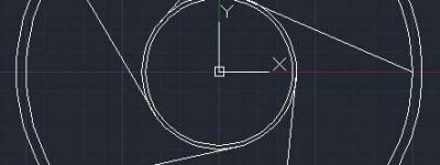 cad怎么绘制轮盘平面图?