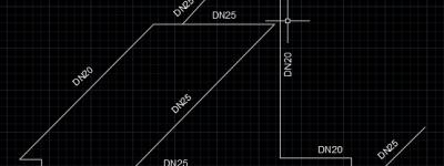 cad怎么绘制管道立体图?