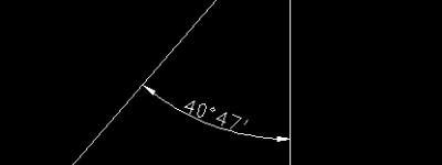 cad角度怎么标注度分秒? cad标注角度的度分秒教程