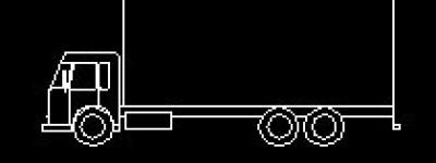 CAD怎么画一辆大货车? cad画货车的方法