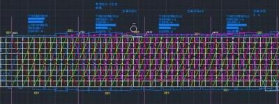 CAD怎么绘制铁路列车运行图?