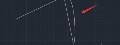 CAD光顺曲线命令怎么使用? CAD给折线制作光顺曲线的教程