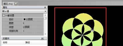 CAD绘制的图形怎么填充渐变色? cad图形渐变的制作方法