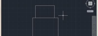 CAD两个矩形怎么缩放对齐? CAD缩放对齐的教程